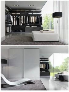 خزائن الملابس بتصميمات عصرية