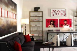 غرف معيشة تجمع بين الكلاسيكية والمودرن